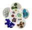 china decorative color glass beads