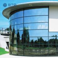 4mm+6A+4mm hot bending insulated glass