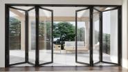 Thermal Break Aluminium Frame Glass Folding, Sliding, Swing, Hinged Doors