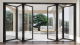 Thermal Break Aluminium Frame Glass Folding, Sliding, Swing, Hinged Doors