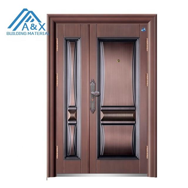 Copper color Main Entrance Steel Security Door