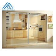 Wonderful European Design 304 Stainless Steel Sliding Interior Glass Door