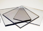 Top quality 12mm polycarbonate plastic ceiling panels for car shed roof