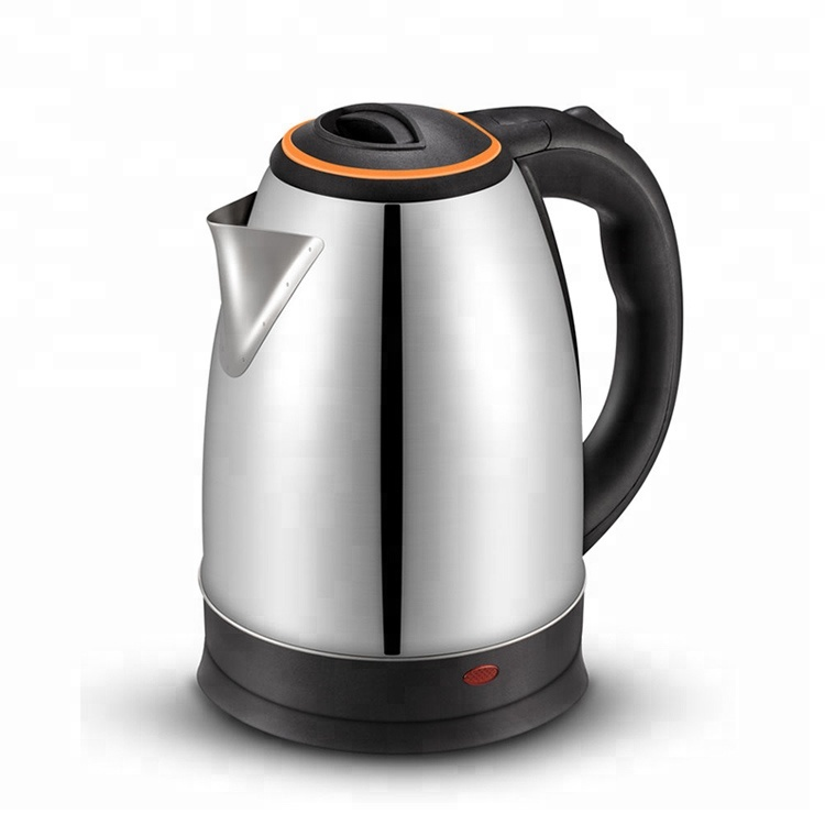 Stainless steel 1.8 Liter 1500W electric kettle
