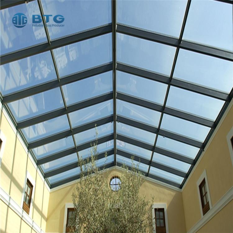 4mm+6A+4mm skylight insulated glass