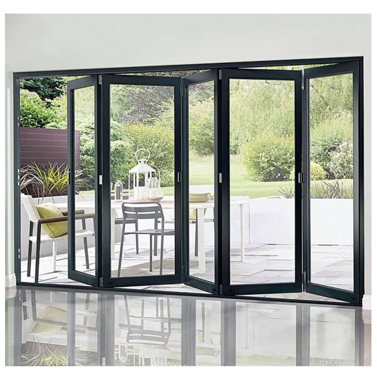 European style aluminium french doors/aluminum sliding&folding door