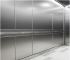 Suspended stainless steel ceiling tile