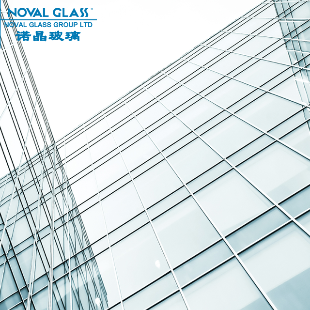 Tempered Laminated Glass with Holes for Spider Curtain Wall