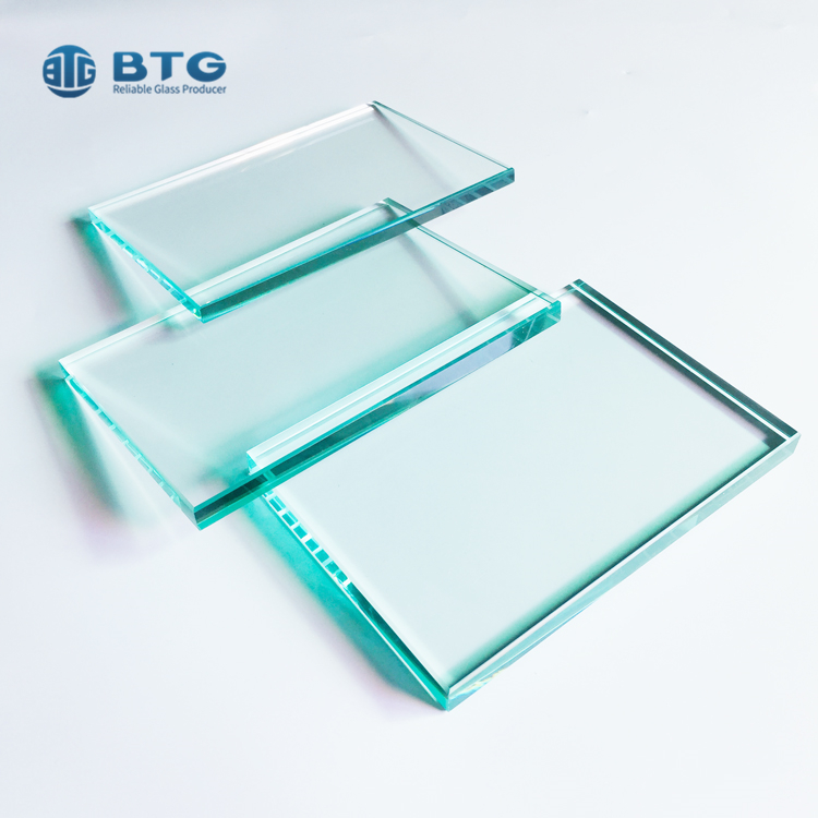 3mm-25mm super clear tempered glass