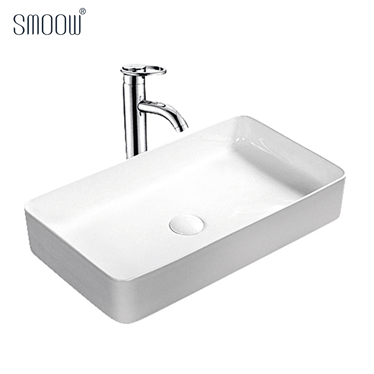 New model porcelain bathroom hand wash art basin with avaible price