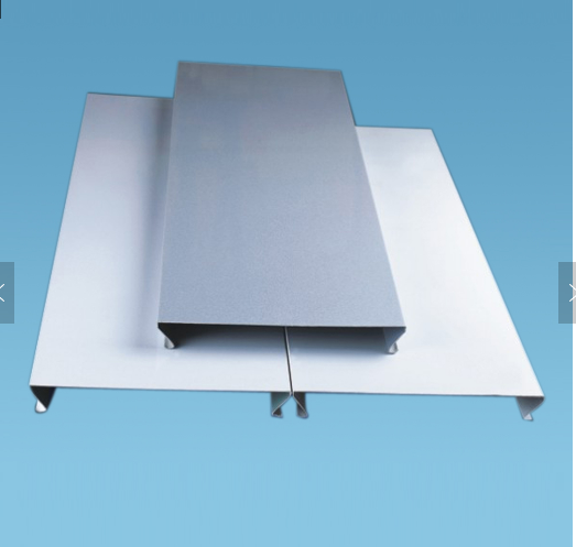 Aluminum decorative metal ceiling tile/C shaped linear ceiling