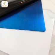 201 304 316 430 Thickness 2Mm Blue Hairline Ss Brushed Surface Finish Sheet Metal 4 X 10 Stainless Steel Sheet