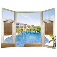 foshan aluminium window extrusions Commercial Window