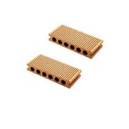 High Environmental Customized quality good engineered wood flooring deck composite wood wpc decking floor