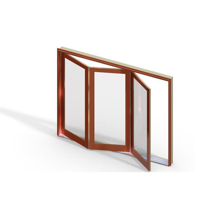 Experienced factory direct watertight sliM window folding screen window