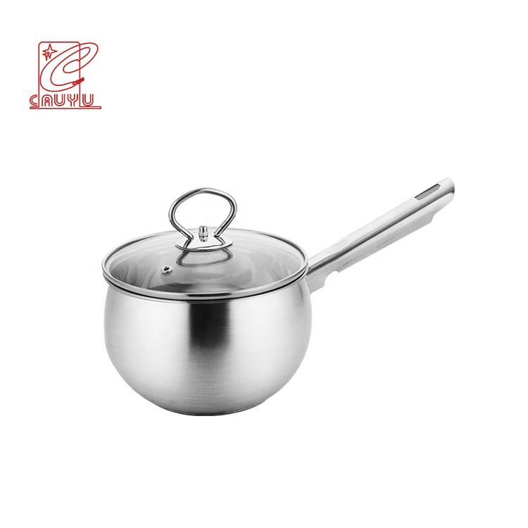Cheap price stainless steel saucepan wholesale little pot