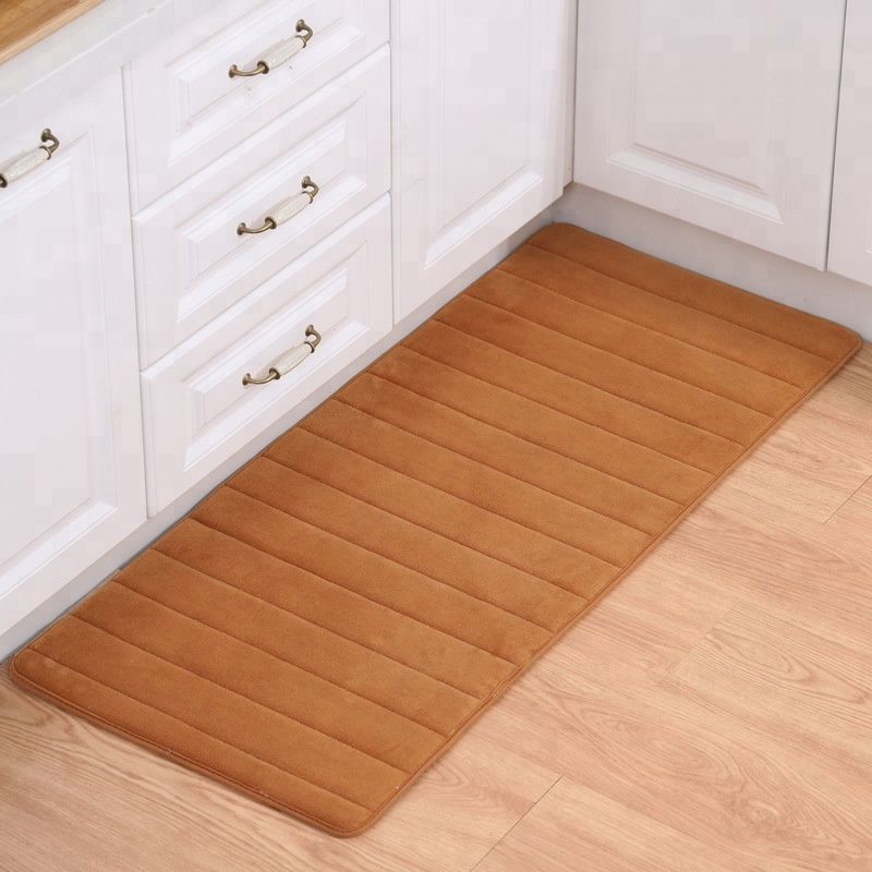 Wholesale Beautiful Printed Floor Mat Anti-fatigue Kitchen Mat Anti-slip