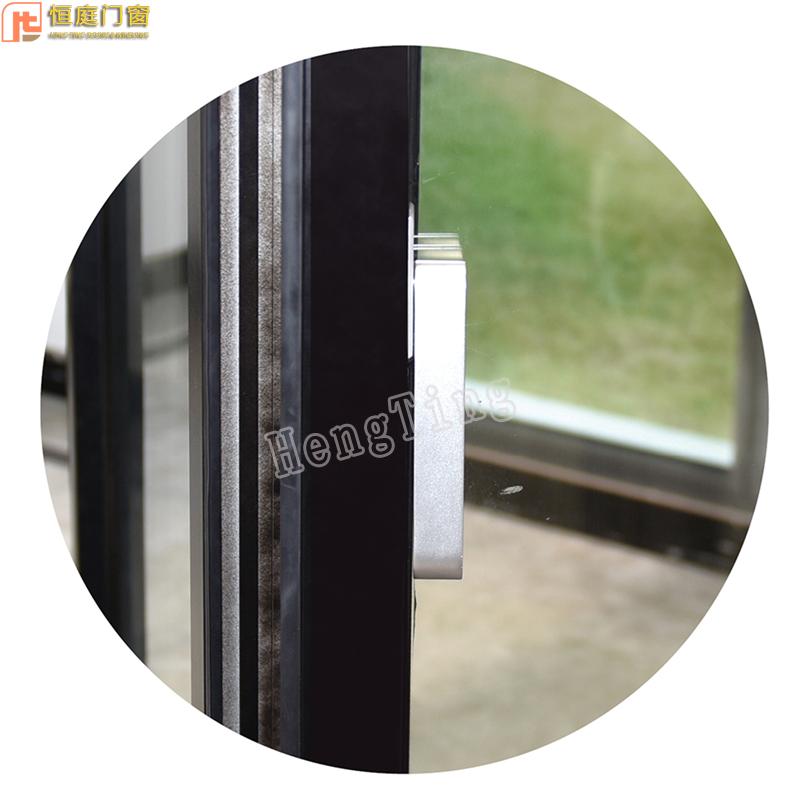 Retail price custom 1.4mm aluminium alloy 50 slim fold window