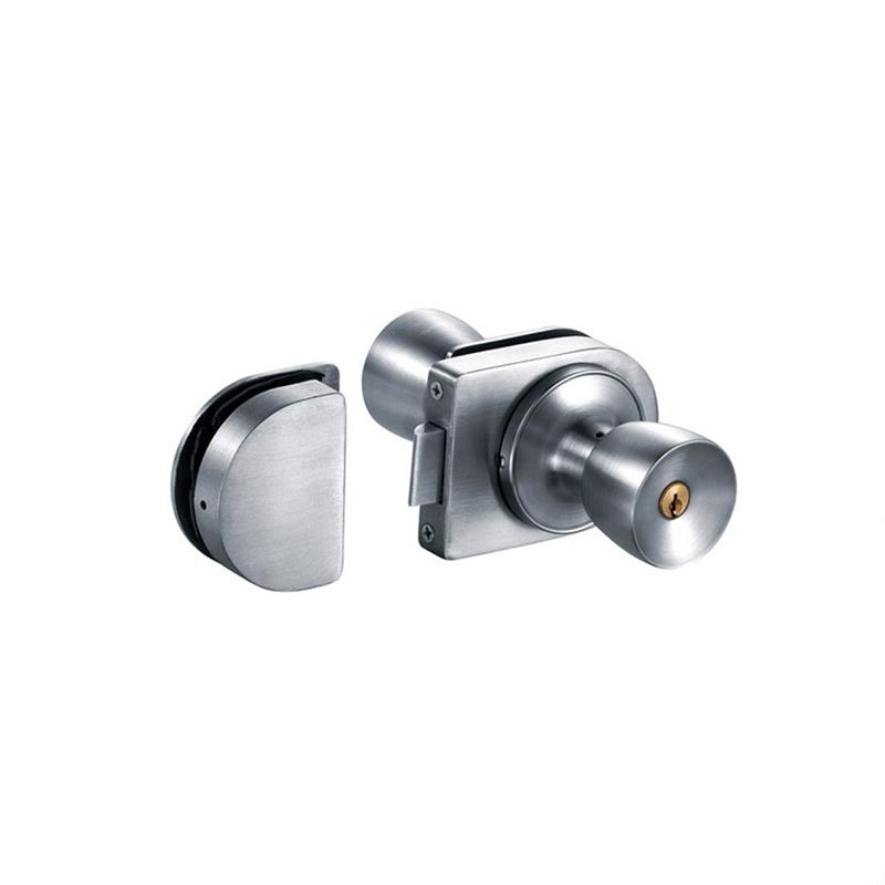 Stainless steel door locks with lever for glass door