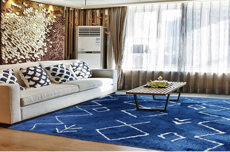 Silk Carpet Fluffy Fur Rug Soft Carpet Rugs