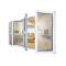 Experienced factory direct double glaze window aluminum alloy folding window