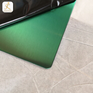 custom 0.7mm 304 316 Grade Colored Stainless Steel Decorative Sheet Brushed Surface Finish Embossed Stainless Steel Panels