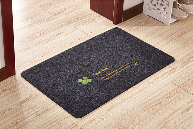 Custom Anti-slip PVC Backing Outdoor Mat