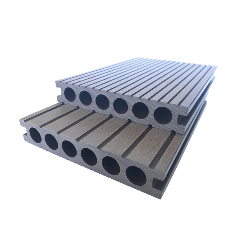 hot and cold Weather Resistant low maintenance china promotional wpc board wood composite decking artificial wood decking