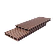 Long Time Durability garden no slip waterproof wpc floor decking plastic wood composite sheet composite decking wood plastic