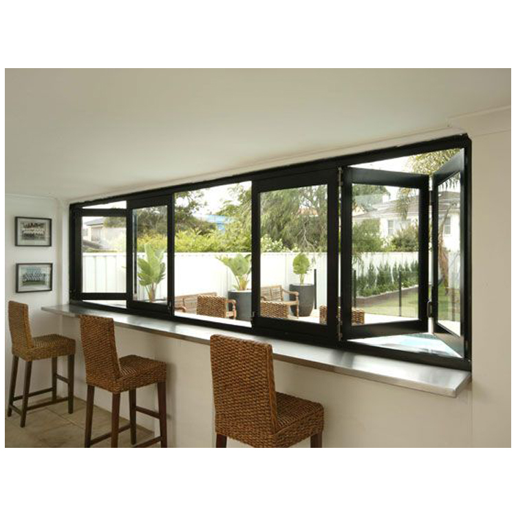 Experienced factory direct sound proof top fix window folding screen window