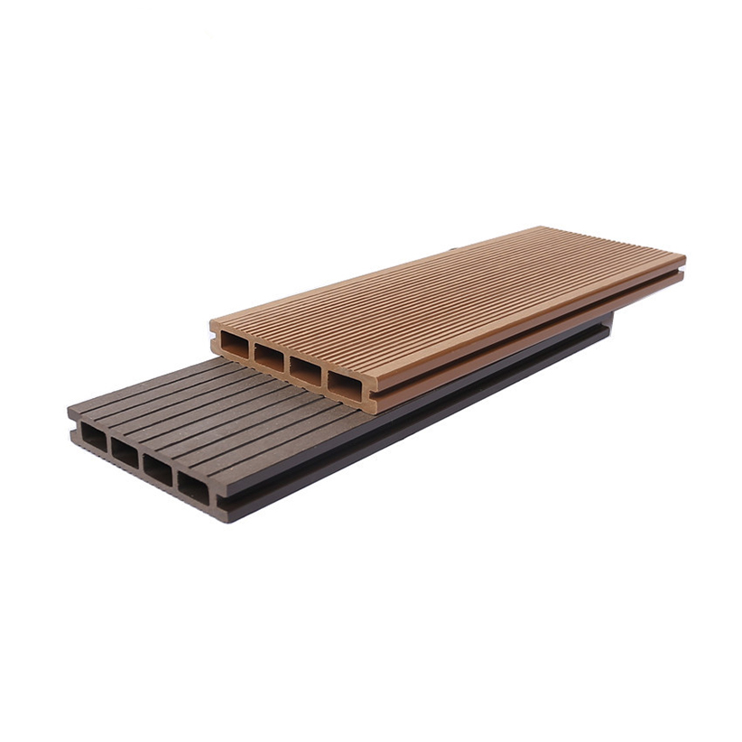 no slip grooved surface 25mm Engineered Flooring wpc composite decking wpc crack-resistant decking wpc decking outdoor