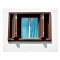 Experienced factory direct double glass window with bar folding screen window