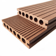 Hollow profile scratch resistant no slip wpc decking wood plastic composite wpc pool decking wpc decking wood