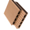 China professional manufacturer decking boards composite decking solid waterproof interlocking composite decking