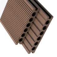 High quality Outdoor Eco Material Natural Color solid wpc decking waterproof outdoor deck flooring deck composite wood