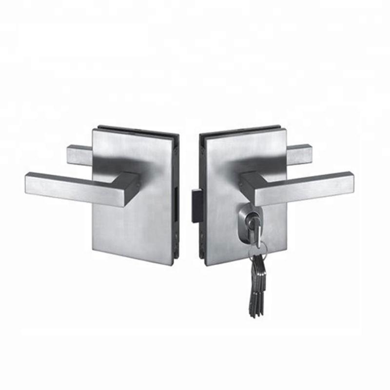 Stainless Steel Frameless Glass Door Lock