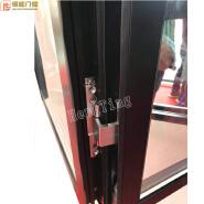 double hollow glass sound proof thermal break window/folding screen