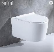 New sanitary ware cistern hidden ceramic washdown wall hung toilet wc for bathroom decoration
