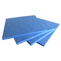 Add to CompareShare cheap sound absorbing board polyester fiber acoustic panel wall board