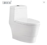 Update design German floor mounted one piece toilet for hotel sanitary ware