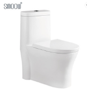 Home construction ceramic white one piece toilet with Australian standard