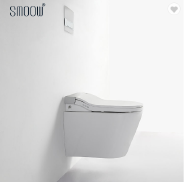Modern European style bathroom intelligent wall hung smart toilet seat with CE certificate