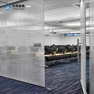 Large SGP interlayer decorative ceramic frit laminated glass