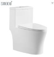 Modern design sanitary ware ceramic washdown one piece toilet bowl with design patent