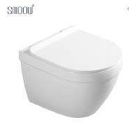 Chaozhou manufacturer bathroom ceramic rimless wall hung toilet water closet WC