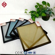 FACTORY PRICE ENERGY SAVING SINGLE DOUBLE TRIPLE SILVER COATED LOW-E GLASS