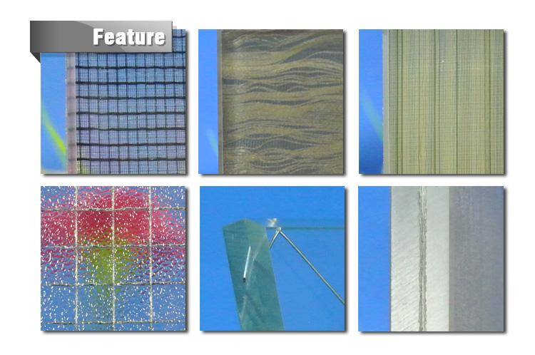 wire reinforced glass