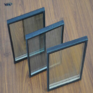clear and tinted tempered low emissivity exterior building glass walls