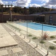 Balcony Safe Glass Railing Glass Fence