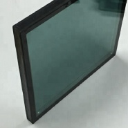 China factory high quality low-e double glazing glass wall price